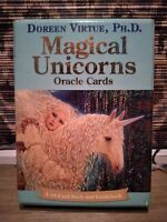 Magical Unicorns Oracle Cards by Doreen Virtue Cards Book The Fast Free Shipping