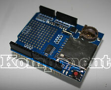 Modulo Registratore Dati Arduino Shield Data Logger SD Card + Batteria