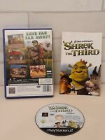 Shrek The Third PS2 Game  - Complete with Manual/Booklet - VGC