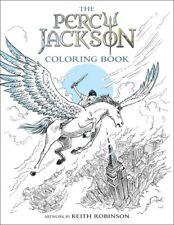 Percy Jackson Coloring Book  Rick / Robinson,Keith Riordan 2017, Book