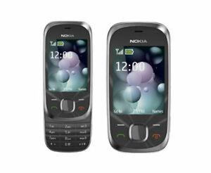 Nokia Slide 7230 Black(Full Box) - Graphite (Unlocked) Mobile Phone