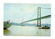 Portugal - Lisboa / Lisbon, Ponte sobre o rio Tejo - Postcard Franked 1980