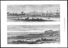 1878 - CYPRUS Views of Wolseley MONASTERY CAMP NICOSIA - ANCIENT PAPHOS (155)