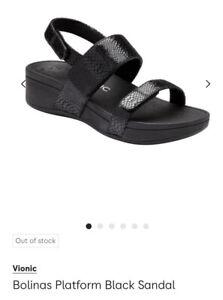 Vionic Bolinas Platform Sandal Size 6/39
