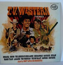 LP GEOFF LOVE & HIS ORCHESTRA ‎– GREAT T.V. WESTERN THEMES