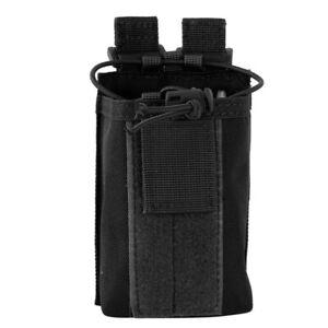 US Molle Radio Pouch Belt Holder Adjustable Walkie Talkie Bag Heavy Duty Holster