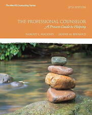 The Professional Counseling: A Process Guide to Helping by Janine M. Bernard, Ha