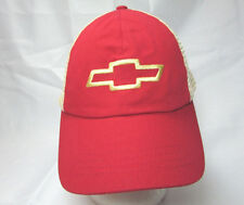 Chevy Trucker Red Mesh Hat Baseball Cap One Size