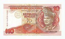 "MALAYSIA  RM10  JAFFAR HUSSEIN  TDLR  US_1263159  ""AUNC"""