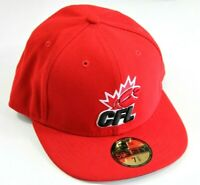 New Era CFL Logo Fitted Hat Size 7 5/8    60.6 cm   New
