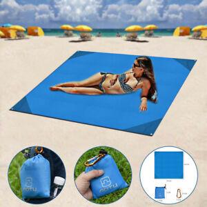 Foldable Camping Mat Waterproof Sand Free Beach Picnic Blanket Mat Outdoor Pad