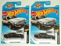 2019 Hot Wheels Walmart Zamac Nissan Skyline RS KDR30 Lot of 2 Free shipping