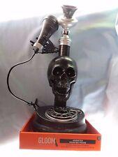 SKULL HALLOWEEN TALKING Animate  Jaw MOVES Phone Spooky LIGHT Haunted Telephone
