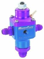 Magnafuel MP-9690 Two Port Fuel Pressure Regulator Boost Reference #6 outlets