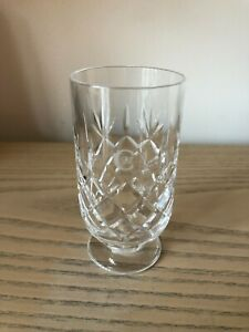 Genuine Royal Doulton Cut Glass British Airways Concorde Class