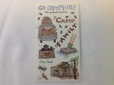 Camping Tents Swimming  SCRAPBOOKING Stickers By Susan Branch A145