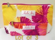 3 x CLINIQUE COSMETIC TRAVEL BAG BY LULU DK @ MACY'S DPT STORE 2015