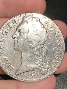 France Louis XV Argent ECU 1760 A