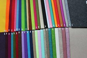 Trendy Filzplatten groß 375 x 500mm Bastelfilz 3 mm Filz 52 Farben Filzplatte