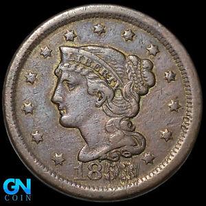 1853 Braided Hair Large Cent --  MAKE US AN OFFER!  #K8817