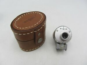 Argus 654 Shoe Mount Turret Viewfinder 35mm 50mm 100mm For C44 w/ Case