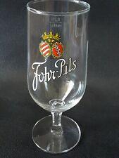 Bierglas mit Stiel  Fohr Pils 0,25