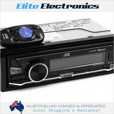 JVC KD-X330BT BLUETOOTH SINGLE DIN USB CAR RADIO STEREO AUX PLAYER HEADUNIT
