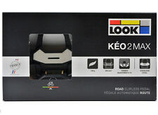 NEW 2017 LOOK KEO 2 Max Road Cycling Pedals & Gray Grip Cleats/Bolts: BLACK