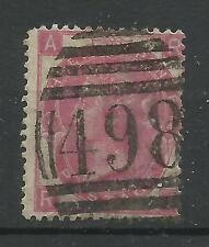 1867/80 Sg 103, 3d Rose (Ra) Plate 4, Good to fine used.