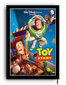 TOY STORY buzz woody Light up movie poster lightbox led sign home cinema film