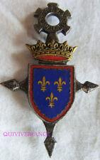 IN12630 - INSIGNE 26° Dragons, BERRY CAVALERIE, émail, dos lisse gravé