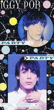 """Iggy Pop """"Party"""" Werk von 1981! Zehn Songs plus zwei Bonustracks! Nagelneue CD!"""