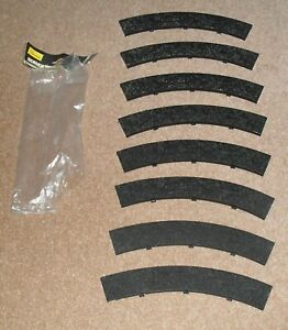 Scalextric C185 CURVE TRACK BORDERS 8 Pieces 1980s Model Racing Classic Analogue