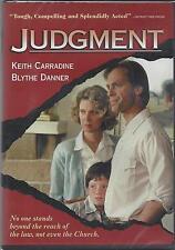 JUDGMENT Keith Carradine  Blythe Danner David Strathairn Jack Warden NEW DVD