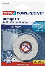 Tesa Double-Sided Mirror Mounting Tape; 19mm x 1.5m