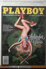 Playboy September 2013 Splender in the Grass Factory Sealed