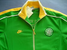 RARE~Nike CELTIC Football Soccer Track sweat shirt jersey Jacket Top n98~Men Lrg