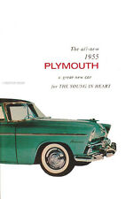 1955 Plymouth Owners Manual 55 Plaza Savoy Belvedere Suburban Owner Guide Book