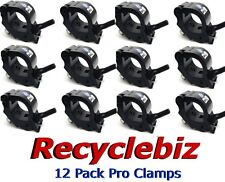 Global Truss Pro Clamp (12 pack) BLACK New in the box! FREE Same Day Shipping!!