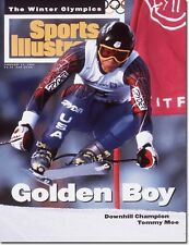 February 21, 1994 Tommy Moe, USA Olympic Skiing Sports Illustrated A