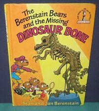 """Dr Seuss Beginner  """"BERENSTAIN BEARS & MISSING DINOSAUR BONE """" - 1980  hb/pc"""