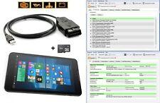 "VAG Diagnostic Appareil VCD HEX CAN obd2 profonde diagnostic + 8"" Tablette encoder Jusqu'à 2018"