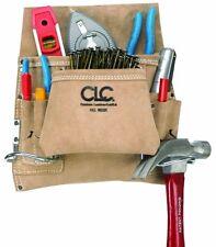 CLC Custom Leathercraft I823X Suede Carpenter's Nail And Tool Bag, 8 Pocket