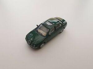 Dark Green Jaguar S-Type 1/72 Hongwell Cararama loose
