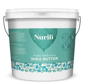 Shea Butter - 1KG - Certified Organic Unrefined Pure Natural Food Grade
