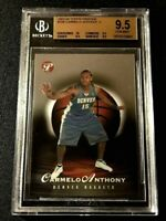 CARMELO ANTHONY 2003 TOPPS PRISTINE #108 ROOKIE RC /999 ALL BGS 9.5 10 SUBGRADES