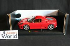 Hot Wheels Elite Transkit Ferrari F430 Spider (hard top closed) 1:18 red (PJBB)