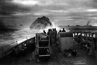 New 5x7 World War II Photo: U.S. Coast Guard Sinks Nazi U-Boat, 1943