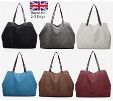 New Large Quality Canvas Ladies Women Tote Shoulder Handbag Bag