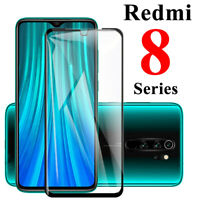 For Xiaomi Redmi Note 8 Pro FULL COVER Tempered Glass Screen Protector Film SO
